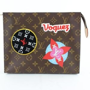 Louis Vuitton Patches Stories Toiletry Pouch 26